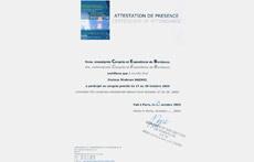 Conference Participation