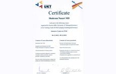 Workshop Certification